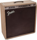 Musical Instruments:Amplifiers, PA, & Effects, 1960 Fender Concert Brown Guitar Amplifier, Serial # 00915....