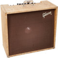 Musical Instruments:Amplifiers, PA, & Effects, 1960 Gibson GA-80 Vari-Tone Tweed Guitar Amplifier, Serial # 170192....