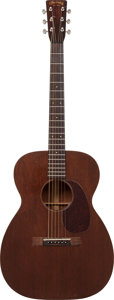 Musical Instruments:Acoustic Guitars, 1948 Martin 00-17 Natural Acoustic Guitar, Serial # 110163....