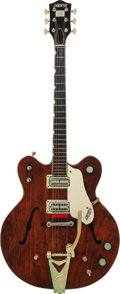 Musical Instruments:Electric Guitars, 1964 Gretsch Country Gentleman Burgundy Semi-Hollow Body ElectricGuitar, Serial # 24741....