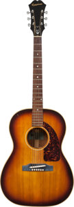 Musical Instruments:Acoustic Guitars, 1965 Epiphone FT-45 Cortez Natural Acoustic Guitar, Serial #424153....