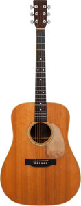 Musical Instruments:Acoustic Guitars, 1976 Martin D-28 Natural Acoustic Guitar, Serial # 372133....