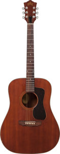 Musical Instruments:Acoustic Guitars, 1970's Guild D-25M Natural Acoustic Guitar, Serial # 118082....