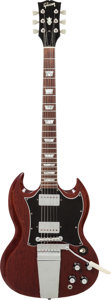 Musical Instruments:Electric Guitars, 1968 Gibson SG Standard Cherry Solid Body Electric Guitar, Serial #523120....