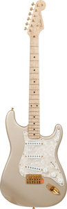 Musical Instruments:Electric Guitars, 1993 Fender Custom Shop '62 Re-Issue Stratocaster Shoreline GoldSolid Body Electric Guitar, #1 of 12....