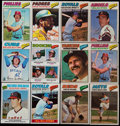 Baseball Cards:Sets, 1977 Topps Baseball Complete Set (660) Plus Stickers Complete Set (73). ...
