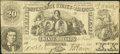 Confederate Notes:1861 Issues, T20 $20 1861 PF-5 Cr. 141.. ...