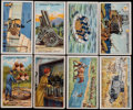 "Non-Sport Cards:Singles (Pre-1950), 1915 Gallaher ""The Great War Second Series"" Complete Set (100). ..."