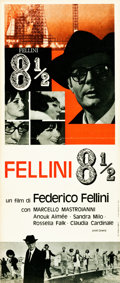 "Movie Posters:Foreign, 8½ (Embassy, 1963). Italian Locandina (11.5"" X 27"").. ..."