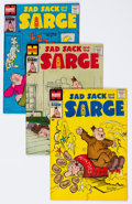 Silver Age (1956-1969):Humor, Sad Sack and the Sarge File Copies Box Lot (Harvey, 1957-82) Condition: Average NM-....