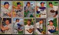 Baseball Cards:Sets, 1952 Bowman Partial Set (146/252) With Some Duplicates. ...
