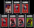 Hockey Cards:Lots, 1963 Parkhurst Hockey High End SGC Collection (7). ...