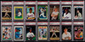 Baseball Cards:Lots, 1987 - 1991 Baseball Stars & HoFers PSA Gem MT 10 GradedCollection (14)....