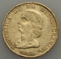 Colombia, Colombia: Nueva Granada gold 16 Pesos 1840-RS VF - Cleaned,...