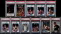 Basketball Cards:Lots, 1988-94 Michael Jordan PSA Graded Collection (11)....