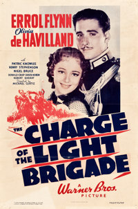 """The Charge of the Light Brigade (Warner Brothers, 1936). One Sheet (27"""" X 41"""")"""