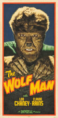"Movie Posters:Horror, The Wolf Man by Arthur K. Miller (2015). Original Artwork ClothBanner (24"" X 50"").. ..."