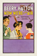 "Movie Posters:Comedy, Now We're in the Air (Paramount, 1927). One Sheet (27"" X 41"") StyleB.. ..."