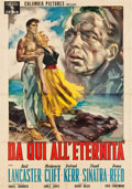 "Movie Posters:Academy Award Winners, From Here to Eternity (Columbia, 1954). Italian 2 - Fogli (39"" X 55""). Sandro Simeoni Artwork.. ..."