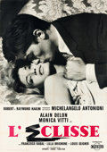 "Movie Posters:Foreign, L'Eclisse (Cineriz, 1962). Italian 4 - Fogli (39"" X 55""). U.S. Title: The Eclipse.. ..."
