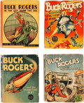 Big Little Book:Miscellaneous, Big Little Book Buck Rogers Group of 10 (Whitman, 1930s)....(Total: 5 Comic Books)