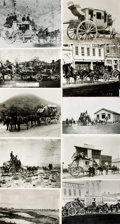 Books:Prints & Leaves, [Stagecoaches]. Collection of Thirty-Eight Photographs and PressPrints Relating to Stagecoaches....