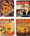 Big Little Book:Miscellaneous, Big Little Book Crimebuster Group of 7 (Whitman, 1930s).... (Total:7 Comic Books)