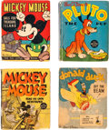 Big Little Book:Miscellaneous, Big Little Book Disney Related Group of 6 (Whitman, 1930s)....(Total: 6 Comic Books)