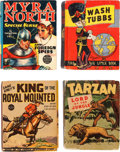 Big Little Book:Miscellaneous, Big Little Book Group Comic Adventure Group of 8 (Whitman,1930s).... (Total: 8 Comic Books)