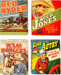 Big Little Book:Miscellaneous, Big Little Book Western Themed Group of 7 (Whitman, 1930s)....(Total: 7 Comic Books)