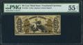 Fractional Currency:Third Issue, Fr. 1355 50¢ Third Issue Justice PMG About Uncirculated 55 Net.. ...