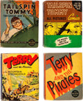 Big Little Book:Miscellaneous, Big Little Book Terry and the Pirates/Tailspin Tommy Group of 10(Whitman, 1930s).... (Total: 10 Comic Books)