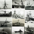 Books:Prints & Leaves, [Ships: U.S. Military Vessels]. Archive of Approximately 190Photographs and Press Prints Depicting U.S. Military Ships....