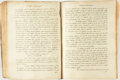 "Books:Manuscripts, Eighteenth Century Florentine Priest's ""Sinners Manuscript"". [n.d., Circa 1798]...."