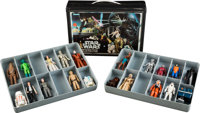 "Star Wars (Kenner, 1978-1980). Mini-Action Figure Collector's Case (9"" X 12"" X 3"") & Action Figur..."