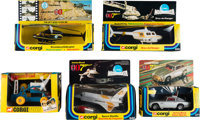 Diamonds are Forever Moon Buggy # 811 & Other Corgi Vehicles (Corgi, 1972-1979). Toy Vehicles in Original Packag...
