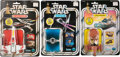 "Movie Posters:Science Fiction, Star Wars Vehicles (Kenner, 1978). Die-Cast TIE Fighter, LandSpeeder, & X-Wing in Original Packaging (3) (7"" X 10"")12-Pack... (Total: 3 Items)"