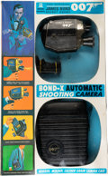 "Movie Posters:James Bond, Bond-X Automatic Shooting Camera (Multiple Toymakers, 1966).Automatic Shooting Camera Toy in Original Packaging (3"" X 14.5""..."