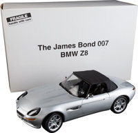 The World is Not Enough - Kyosho Die-Cast BMW Z8 Collectible (Kyosho, 2000). Die-Cast 1:12 Car Collectible in Original P...
