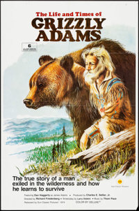 "The Life and Times of Grizzly Adams (Sunn Classic, 1974). One Sheets (2) (27"" X 41""), Lobby Card (11"" X 1..."