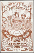 "Movie Posters:Rock and Roll, New Riders of the Purple Sage at the Armadillo World Headquarters (AWHQ, 1975). Concert Poster (11"" X 17""). Rock and Roll.. ..."