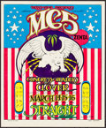 "Movie Posters:Rock and Roll, MC5 at The Straight Theatre (Trans-Love, 1969). Concert Poster (14""X 17"") 1st Printing. Rock and Roll.. ..."