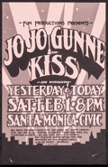 "Movie Posters:Rock and Roll, Jo Jo Gunne at The Santa Monica Civic (Fun Productions, 1975).Concert Poster (10.75"" X 17""). Rock and Roll.. ..."
