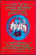 "Movie Posters:Rock and Roll, Hot Tuna at Pepperland (1970). Concert Poster (13"" X 20""). Rock andRoll.. ..."