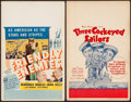 "Movie Posters:Drama, Friendly Enemies & Other Lot (United Artists, 1942). Window Cards (2) (14"" X 22""). Drama.. ... (Total: 2 Items)"