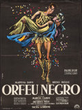 """Movie Posters:Foreign, Black Orpheus (Lux, 1959). French Affiche (23"""" X 31""""). Foreign.. ..."""