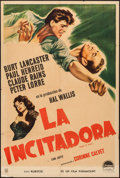 "Movie Posters:Adventure, Rope of Sand & Other Lot (Paramount, 1949). Argentinean Posters(2) (29"" X 43""). Adventure.. ... (Total: 2 Items)"