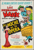 "Movie Posters:Comedy, A Night at the Opera (MGM, R-1950s). Argentinean One Sheet (29"" X43.5""). Comedy.. ..."