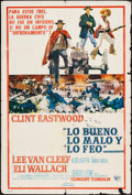 "Movie Posters:Western, The Good, the Bad and the Ugly (United Artists, 1968). Argentinean Poster (29"" X 43""). Western.. ..."
