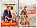 "Movie Posters:Academy Award Winners, A Man For All Seasons & Other Lot (Columbia, 1968). BelgianPosters (2) (14"" X 21.25""). Academy Award Winners.. ... (Total: 2Items)"